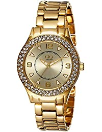 Gio Collection Analog Gold Dial Women's Watch - FG2001-33