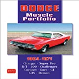 Dodge Muscle Portfolio 1964-1971 (Brooklands Books Road Test Series)