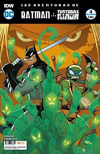 Las aventuras de Batman y las Tortugas Ninja (O.C.): Las aventuras de Batman y las Tortugas Ninja núm. 04 (de 6)