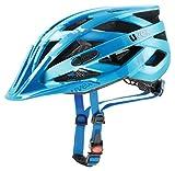 Uvex Erwachsene I-VO CC Fahrradhelm, lightblue-Blue mat, 56-60 cm