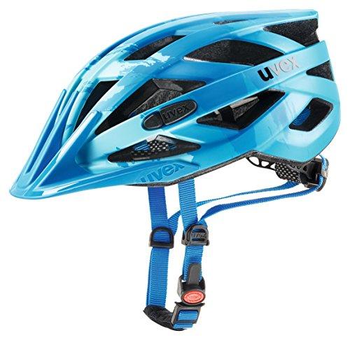 Uvex Erwachsene I-VO CC Fahrradhelm lightblue-blue mat 56-60 cm