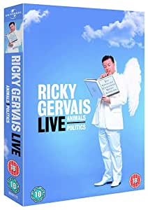 Ricky Gervais Live - Animals / Politics (2 Disc Box Set) [DVD]