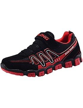 wealsex Zapatillas Para Niños Antideslizante Velcro Zapatos Sneakers Deportivos Para Unisex-niños