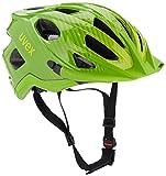 Uvex Fahrradhelm Adige, Green-Lemon, 52-57, 4107950415