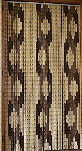 Cirillo tende tenda/moschiera pvc - modello tulipano - puzzle kit fai da te - asta in alluminio - made in italy - misure standard (100x220/120x230/130x240/150x250) (treccia, 120 x 230)