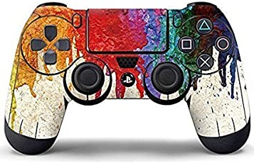 ELTON 3M Skin for Sony PlayStation 4, PS4 Slim, Ps4 Pro DualShock Remote Wireless Controller ,Colorful Oil Painting