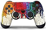 #10: Elton PS4 Controller Designer 3M Skin for Sony PlayStation 4 , PS4 Slim , Ps4 Pro DualShock Remote Wireless Controller (set of two Controllers Skin) - Colorful Oil Painting