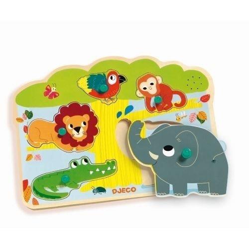 DJECO - puzzle musical baobab