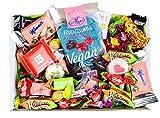 Süßigkeiten Mix Vegan mit Bonbons, Lutschern, Retro Sweets, Schokolade uvm. (1 x 710g)