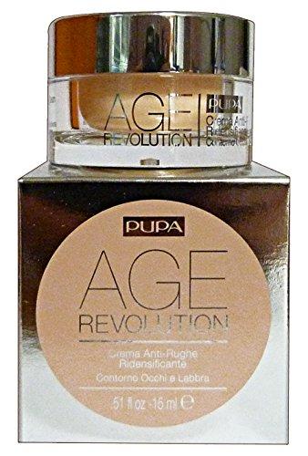 PUPA Age Revolution Crema Anti Rughe Ridensificante Contorno Occhi e Labbra 15ml