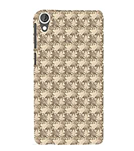 iFasho Modern Art Design animated cloth Pattern of star Back Case Cover for HTC Desire 820