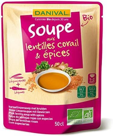 Soupe Lentilles corail-épice 50cL