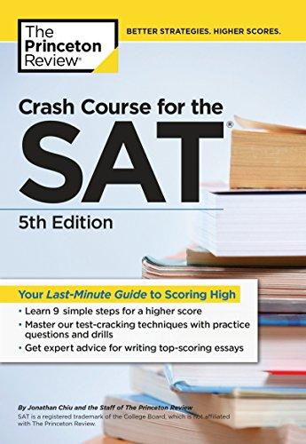Crash Course SAT - 5 Edición (College Test Prep) por Princeton Review
