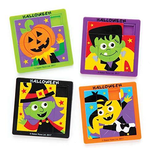 """Baker Ross Schiebepuzzles """"Halloween"""" für Kinder – perfekt -"""