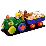 Hop a bordo del trattore cantare e Preparatevi per il divertimento della fattoria a hamleys. Questo coloratissimo musical trattore è chock Full di suoni, luci e adorabili animali della fattoria. L' agricoltore premuto sul sedile del conducente. Il tr...