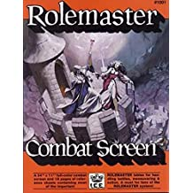 Rolemaster Combat Screen (Rolemaster 2nd Edition Game Rules, Advanced Fantasy Role Playing)