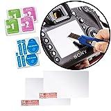 Movo Optische Glas-LCD-Display-Schutzfolien für Sony Alpha A3000