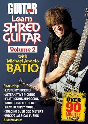 , Volume 2)] [Author: Michael Angelo Batio] published on (January, 2012) (Learn Shred Guitar)