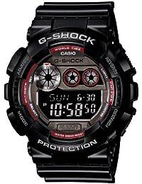 Casio G-Shock–Reloj de hombre de cuarzo digital Dial Acero inoxidable reloj gd120ts-1