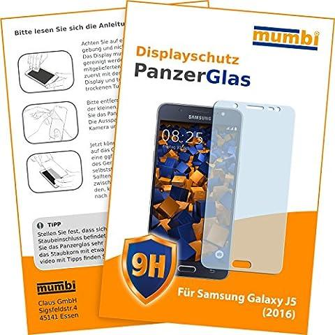 mumbi Panzerglasfolie Samsung Galaxy J5 (2016) Glasfolie Hartglas 9H