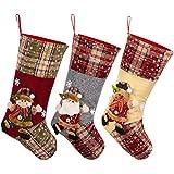 Toyvian Christmas Stocking,Big Xmas Stockings Decoration,18.7