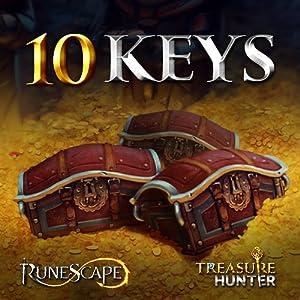 10 Schatzjäger-Schlüssel: RuneScape [Sofort-Zugang] [Game Connect]