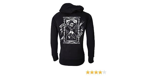 ALL SEEING EYE Goth Uni-Sex Lightweight Fleece Hoodie // Occult Darkside