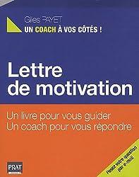 Lettre de motivation