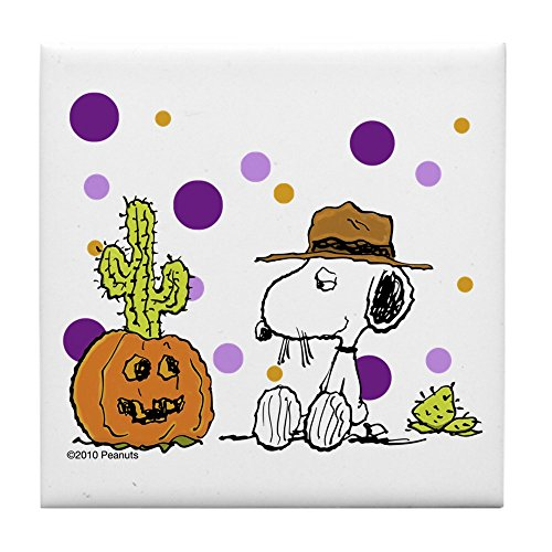 CafePress-Spikey Halloween-Tile Untersetzer, Drink Untersetzer, Untersetzer, Klein