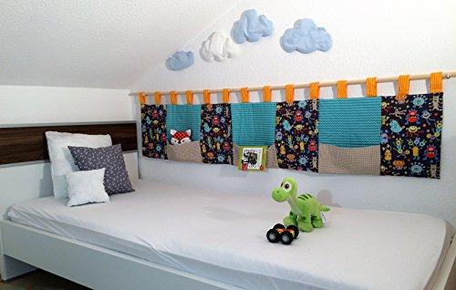 Wandschutz für das Kinderbett (Monster)