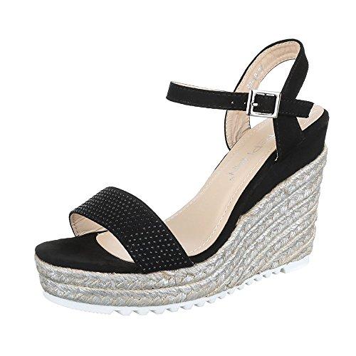 Sandali neri per donna Gibra Comprar Barato Envío Barato Zapatos Muy Baratos En Línea Espacio Libre En Busca De C8QsZm