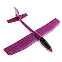Abilieauty EPP Foam Hand Throw Convolution Airplane Outdoor Durable Launch Glider Plane Kids Toy