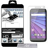 Film Protecteur d'écran en VERRE TREMPE pour Motorola Moto G 3ème génération 4G (Moto G3) (Toutes versions) Ultra Transparent Ultra Résistant INRAYABLE INVISIBLE