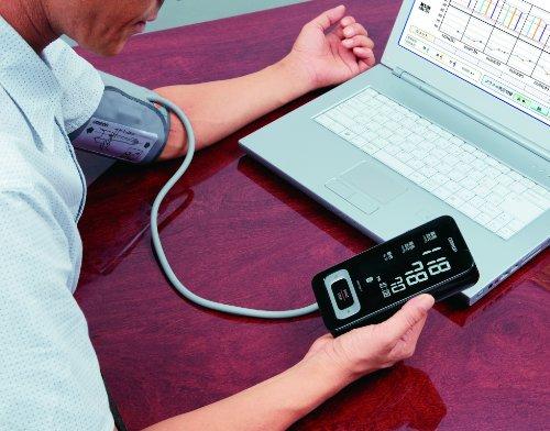 OMRON MIT Elite Plus - Tensiómetro de brazo, detección del pulso arrítmico, transferencia de datos mediante USB (Bi-LINK)