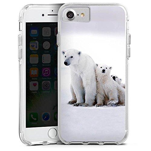 Apple iPhone 6 Bumper Hülle Bumper Case Glitzer Hülle Bear Baer Babybaer Bumper Case transparent