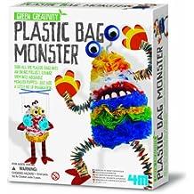 Crea Mostri Con Le Buste Di Plastica - Plastic Bag Monster Green Creativity