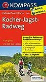 Kocher-Jagst-Radweg 1 : 50 000: Fietsroutekaart 1:50 000 (KOMPASS-Fahrrad-Tourenkarten, Band 7022)