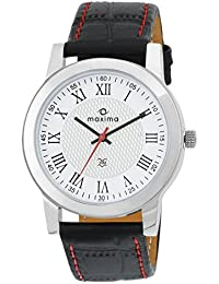 Maxima Attivo Analog White Dial Men's Watch - 20981LMGI