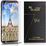 Galaxy S8 Protection Ecran, TOPLUS Film Protection en Verre Trempé 9H Dureté Anti-Scratch Protecteur pour Samsung Galaxy S8