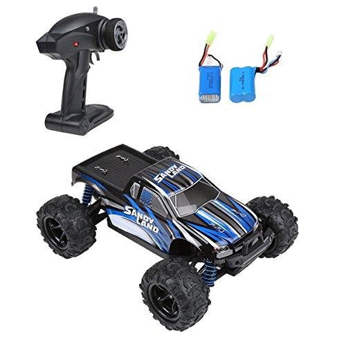Preisvergleich Produktbild RC Auto, Distianert Elektrisches RC Auto Ferngesteuertes Auto 1:18 Maßstab 2.4Ghz 4WD Ferngesteuertes Truck hohe Geschwindigkeit 30MPH mit einer extra wiederaufladbaren Batterie