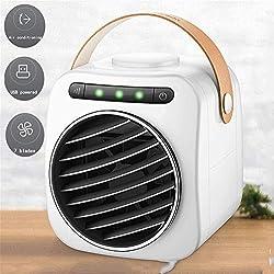WSN Climatiseur Froid,3-en-1 Refroidisseur d'air, purificateur d'espace Personnel, humidificateur évaporant l'air PM2.5
