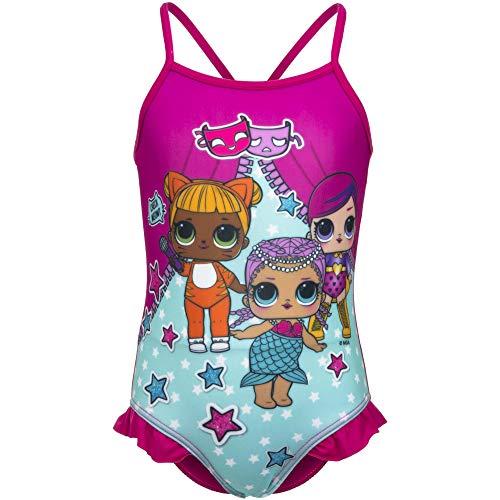 Surprise LOL - Disfraz de Volan de Color Fucsia, Talla 3-4-5-6-8 años Multicolor 5 años