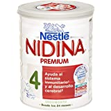 Nidina - 4 Preparado lácteo infantil, en polvo - 800 gr
