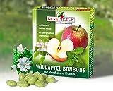 Wildapfel Bonbons mit Menthol + Vitamin C, 50 g