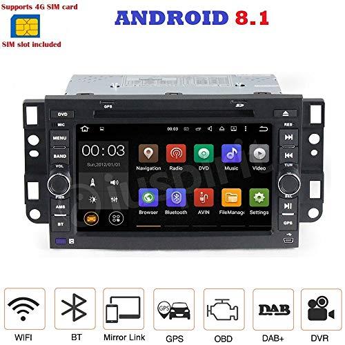 Android 7.1 4G LTE GPS DVD USB SD WI-FI Bluetooth Autoradio 2 DIN Navigationssystem Chevrolet Captiva Chevrolet Epica Chevrolet Tosca Chevrolet Aveo Chevrolet Lova Kalos Chevrolet Matiz Daewoo (Lte-radio)