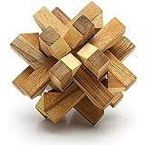 Logica Giochi Art. Copo de nieve–dificultad 3/5–duro de madera cerebro Teaser
