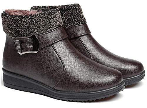Mujer Botas Nieve Zapatos Invierno Impermeables