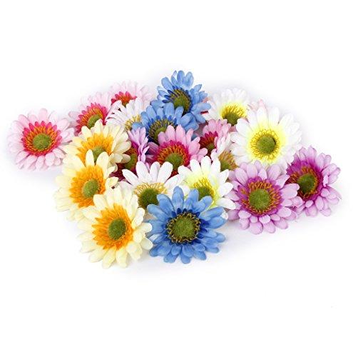 Sharplace 10er/Set Künstliche Sonnenblume, Seidenblumen Kunstblumen für Hause Hochzeit (Sonnenblumen-blütenblatt Stirnband)