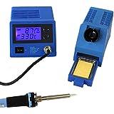 Komerci ZD-931ESD, Komerci ZD-931ESD Regelbare digitale Lötstation ZD-931 mit ESD & beleuchtetem Display, 24V Lötkolben