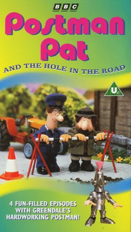 Image of Postman Pat: Postman Pat And The Hole In The Road [VHS] [1981]